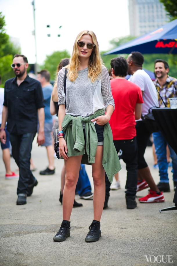 Army Shirt Street Style Vogue