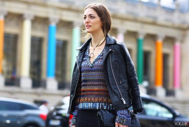 Moto Street Style Vogue